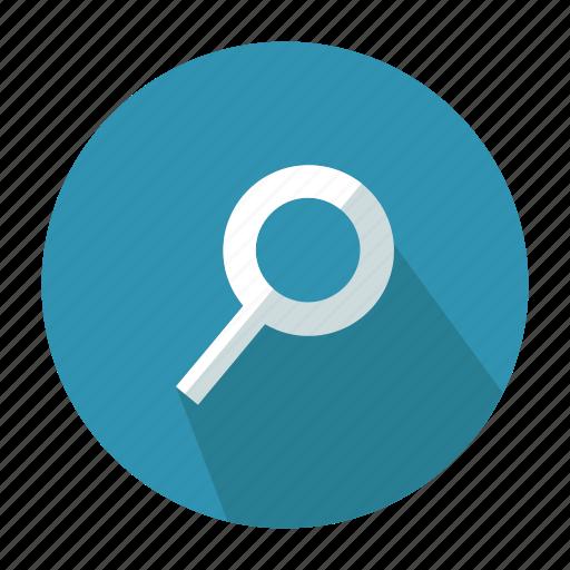 glass, search, web icon