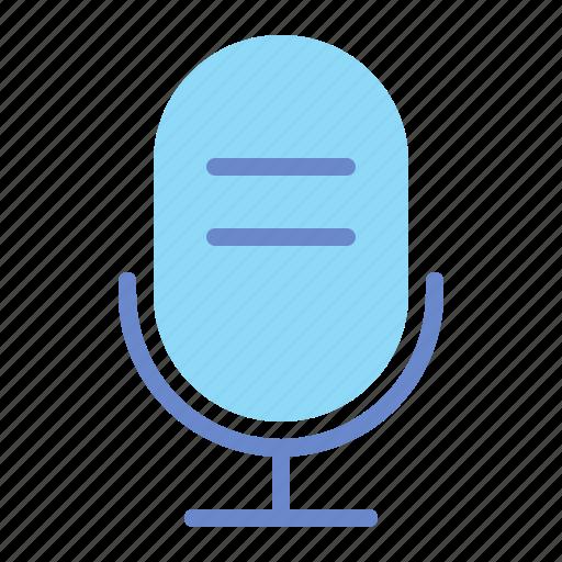 mic, microphone, mike, speech, talk icon