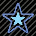 celebrated, dominant, main, star, super icon