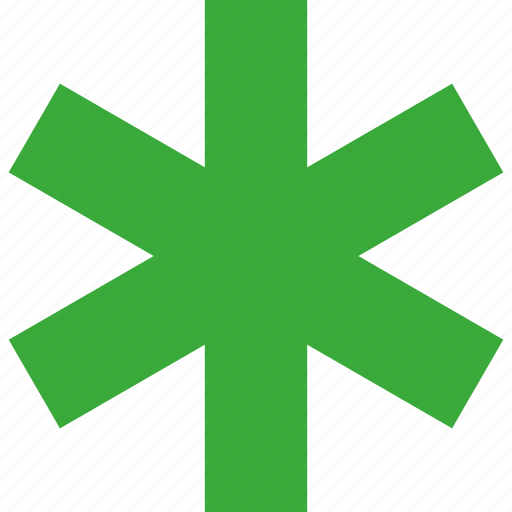 favorite, field, fill, green, require, required, star icon