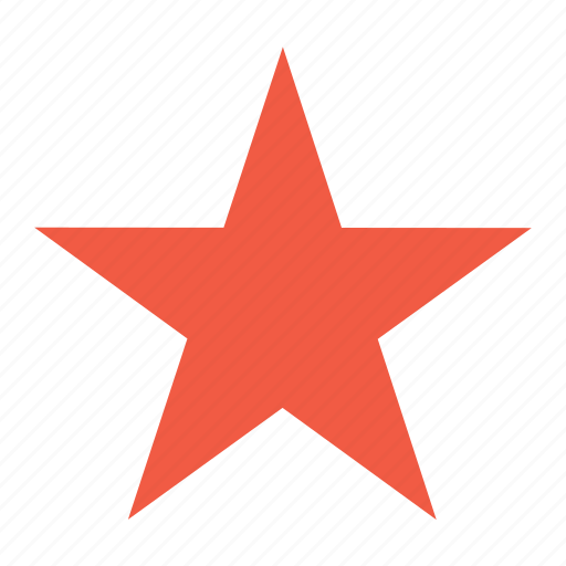 award, best, check, favorite, mark, red, star icon
