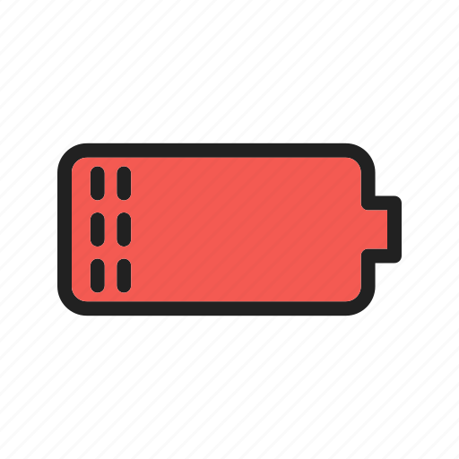 battery, energy, low, power, screen, sign, web icon