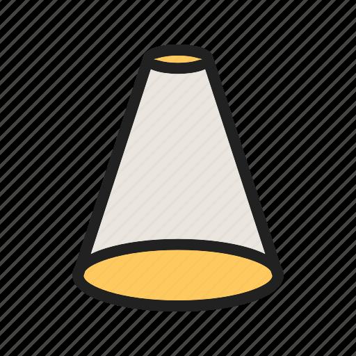 flashlight, focus, graphic, sign, spot, spotlight, tool icon