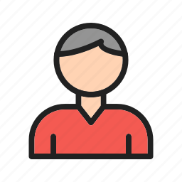 graphic, interface, male, sign, style, user, web icon