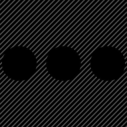 checklist, three dots icon