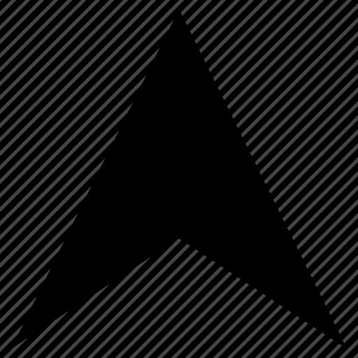 arrow, cursor, direction, gps, location, navigation icon