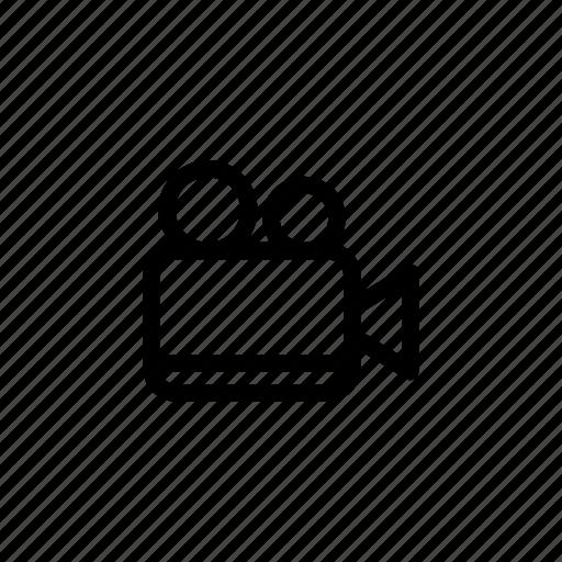 camera, director, film, movie, multimedia, record, video icon