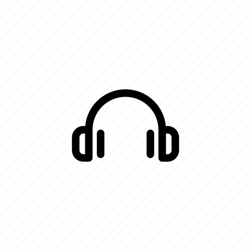 headphone, headphones, headset, multimedia, music, sound, volume icon