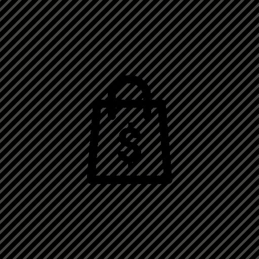 bag, buy, cash, dollar, money, shop, shopping icon
