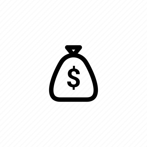bag, bank, cash, dollar, money, payment, treasure icon
