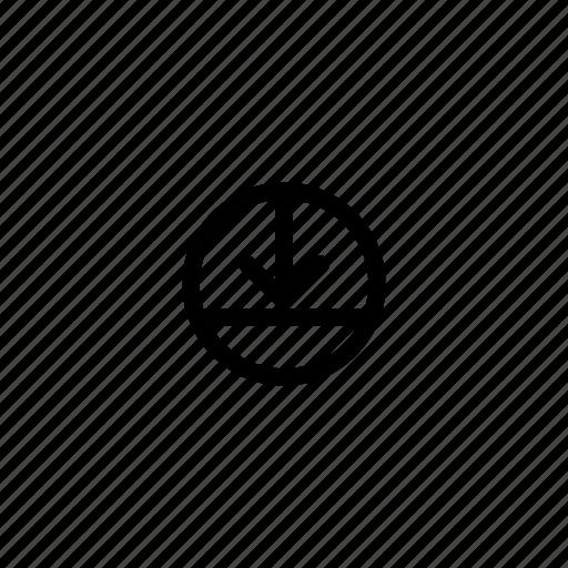 arrow, computer, down, reboot, shutdown, sleep mode, sleeping icon