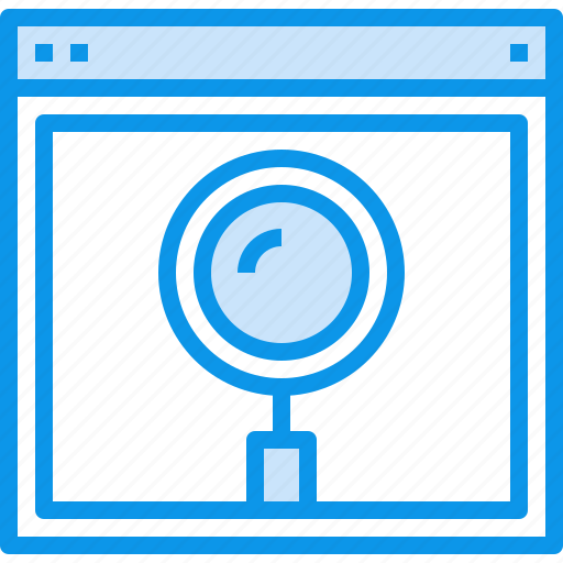 browser, design, interface, page, search, web, website icon
