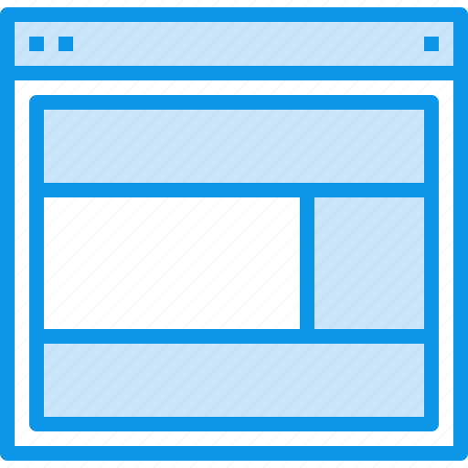 Design, interface, layout, page, web, website icon - Download on Iconfinder