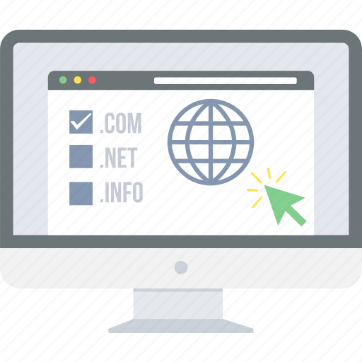 business, connection, domain, internet, online, page, web icon