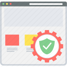 antivirus, page, protection, safe, safety, secure, security icon