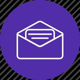 chat, email, envelope, inbox, internet, letter, send icon