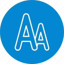 alphabet, font, letter, sheet, text icon