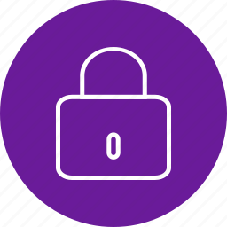 lock, locked, privacy, protection, safety icon