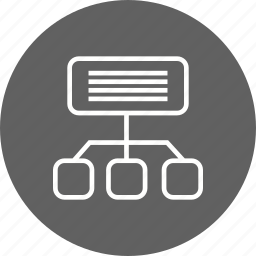communication, network, site map icon