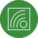 aap, blog, rss feed icon