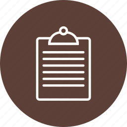 chart, clipboard, pie, report, statistics icon