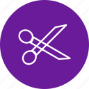barber, cut, cutting, edit, tool icon