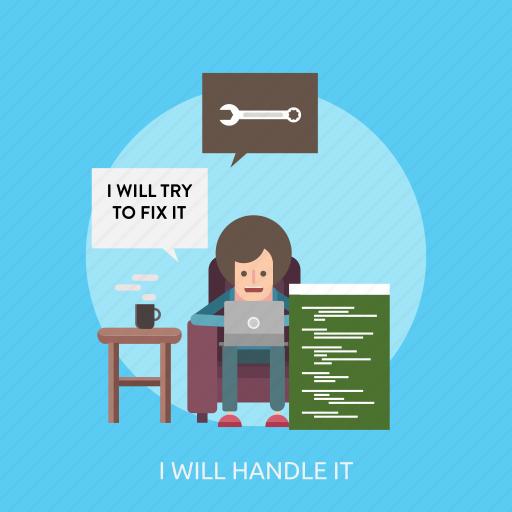 connection, handle, internet, maintenance, technology, website icon