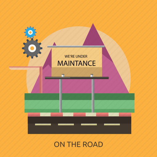 connection, internet, maintenance, mountain, road, technology, website icon