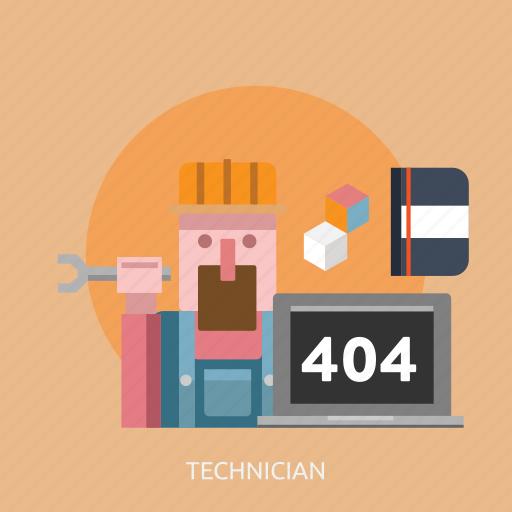 connection, internet, maintenance, technician, technology, website icon