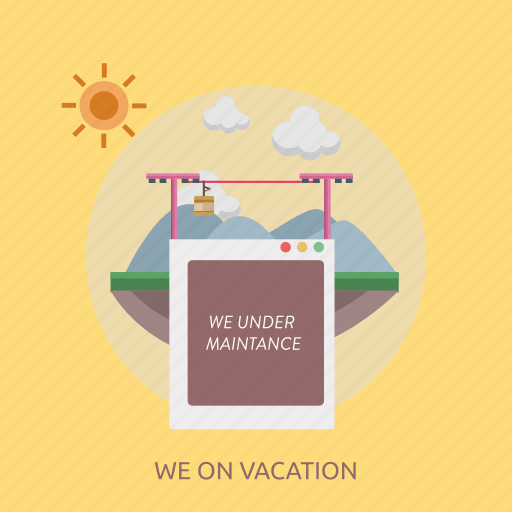 connection, internet, maintenance, technology, vacation, website icon