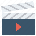 cinema, film, marketing, media, movie, production, video icon