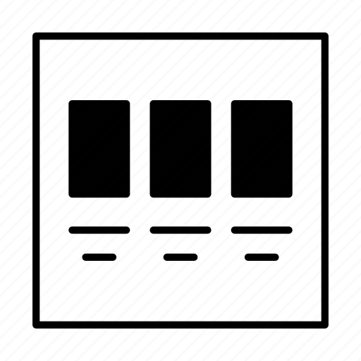 block, design, development, grid, layoutblock icon