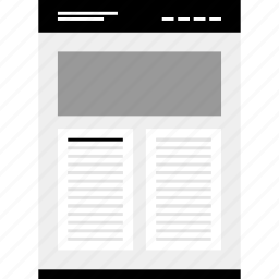 mockup, photo, top, website, wireframe icon