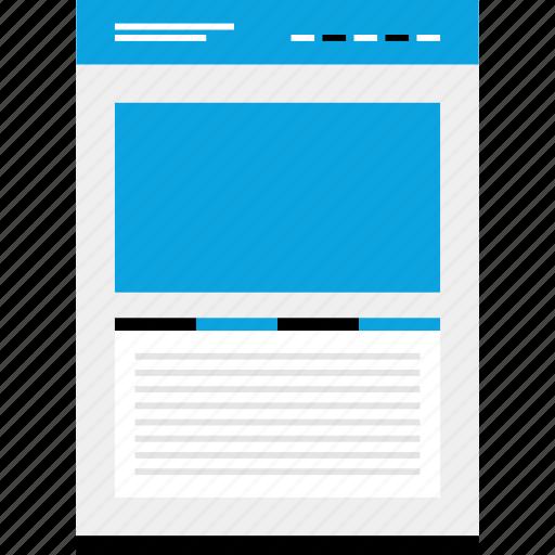 Mockup, web, website, wireframe icon - Download on Iconfinder