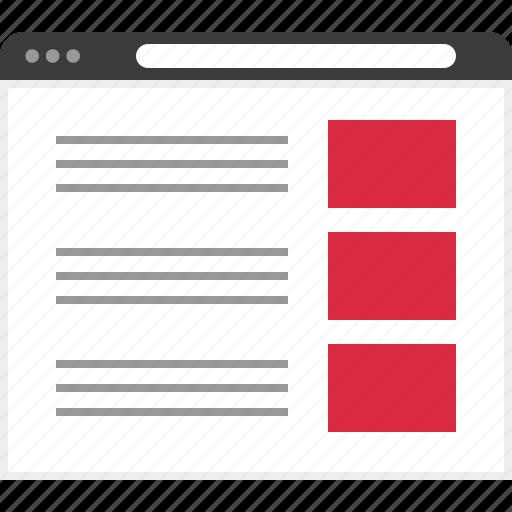 mockup, ui, ux, webdesign icon