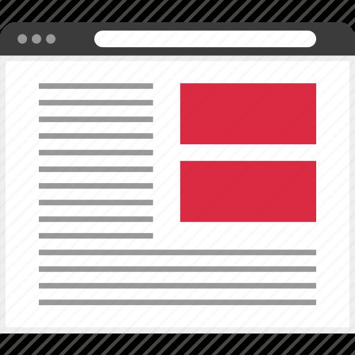 design, interface, site, user icon