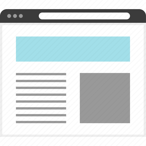Design, page, web, wireframe icon - Download on Iconfinder
