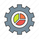 bolt, screw, seo, tool, web icon icon