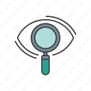 magnifying, optimization, seo, seo icon, web icon icon