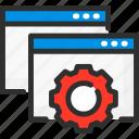 cogwheel, options, page, settings, ui, web, website