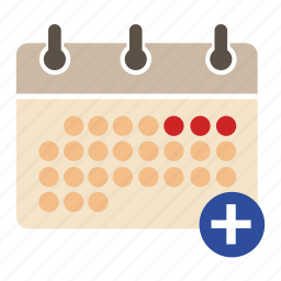 add event, business, calendar, finance, plan, schedule, seo icon