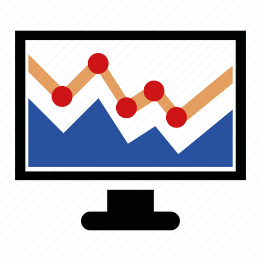 analytics, data, diagram, finance, financial, graph, seo icon
