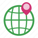 geo, gps, location, map, navigation, seo, world icon