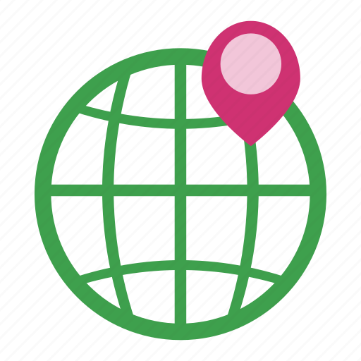 geo, gps, location, map, navigation, seo, world icon