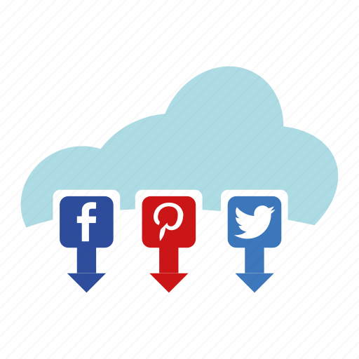 cloud, internet, media, online, seo, social, social media icon