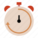 business, clock, plan, schedule, seo, stopwatch, time icon