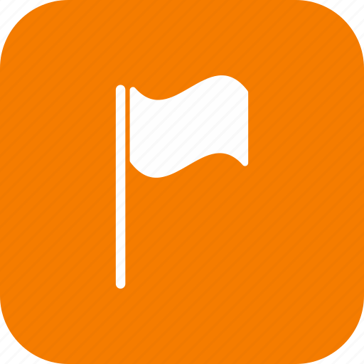 flag, location, pin icon