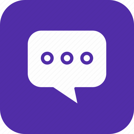 chat, comment, sms, talk, typing icon