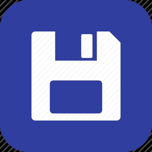 file, floppy disk, guardar, save, storage icon