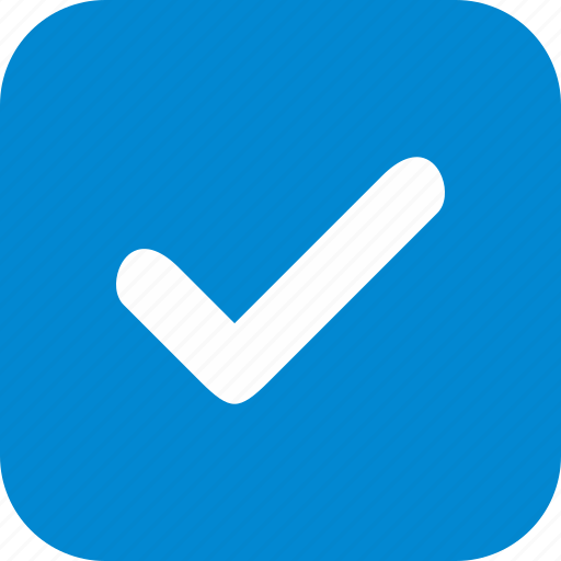 approved, checked, tick, valid icon
